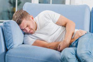 תמונה של בנאדם סובל ממחלת קרוהן