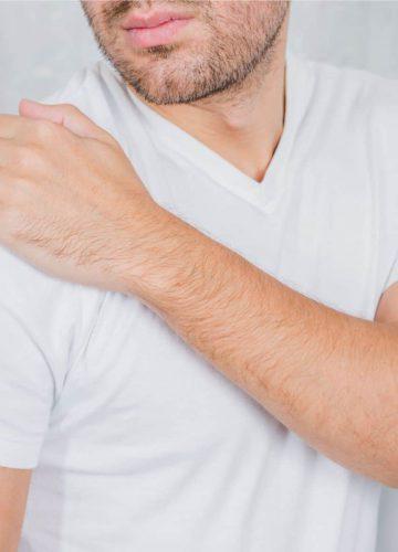 תאונת עבודה פגיעה בכתפיים
